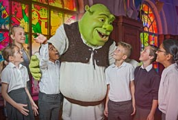 Shrek's Adventure! London photograph