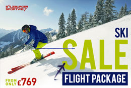 Ski Flight SALE to Austria