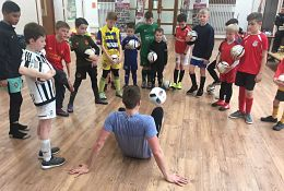 Freestyle Football Workshops school groups