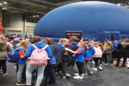 school trip at STEM Fairs