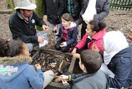 Stone Age School Trip school groups