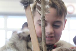 Stone Age Workshops school groups