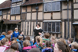 Stratford upon Avon school groups