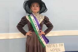 Suffragettes Workshop school groups