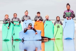 school trip at Watersports, Sustainability and Beach Studies