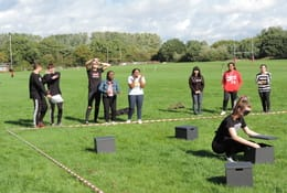school trip at Team Building and Resilience