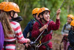 Team Building Outdoor Adventures school groups