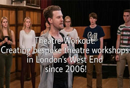 school trip at Theatre Workout Education