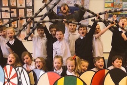 Viking School Days photograph