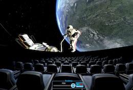 school trip at Virtual Planetarium