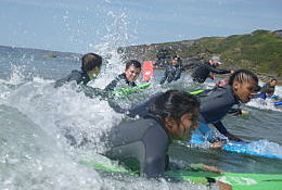 school trip at Pro-Active Adventure Conwy