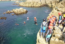 Manorbier school groups