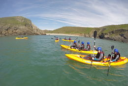 Pro-Active Adventure Conwy school groups