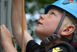 school trip at Whitlingham Adventure