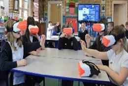 VR Workshop school groups