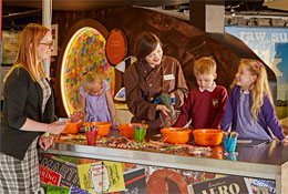 York's Chocolate Story school groups